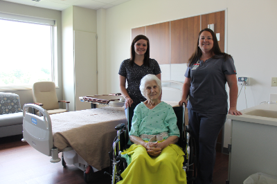 CCMH Hosts First Patient in New Addition