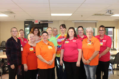 CCMH Recognizes Support Services Professionals