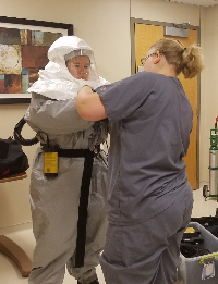 Local Hospitals Partner with Community Agencies in Mock Decontamination Drill