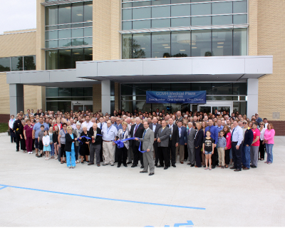 CCMH Medical Plaza Ribbon Cutting Well Attended