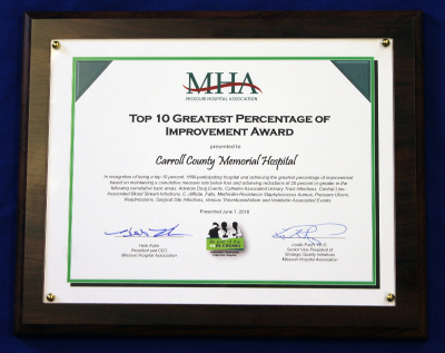 CCMH Receives Awards from Missouri Hospital Association