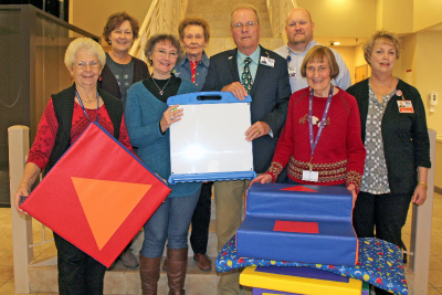 CCMH Auxiliary Donates Items to Rehabilitation Services Department