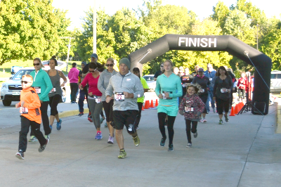 Run For Our Lives 3K/5K Held at CCMH this Fall