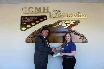Masonic Lodge Donates to Carroll County Memorial Foundation