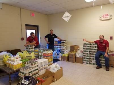 Staff at CCMH Collects Over 3,200 Pounds of Food for Carroll County Food Drive