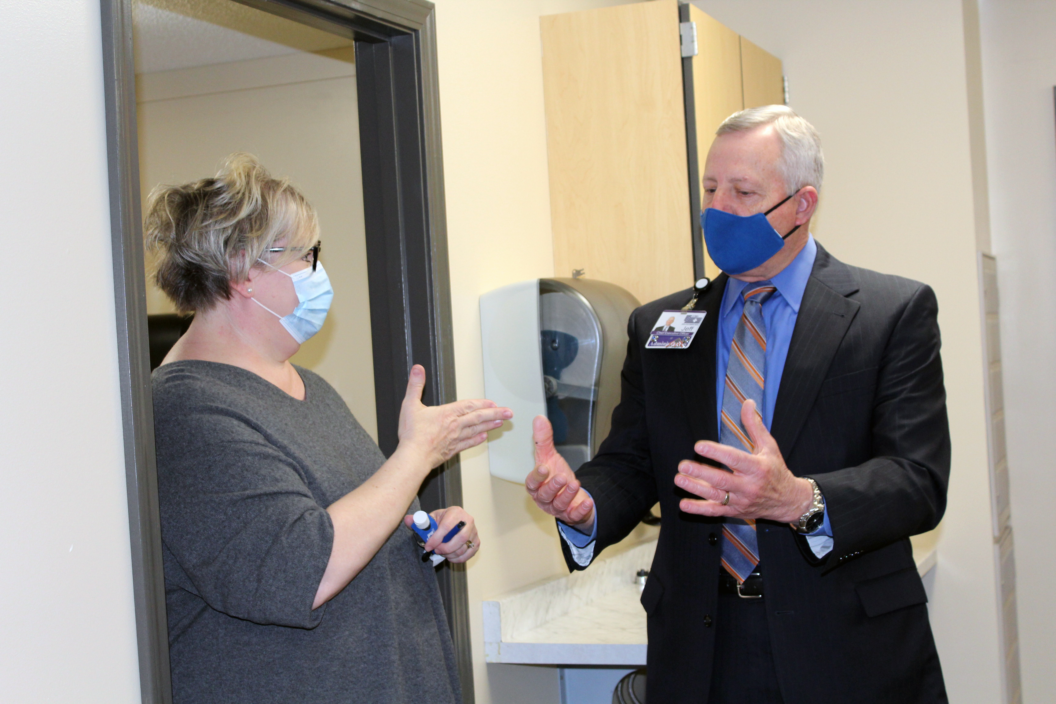 CCMH Hosts Virtual Open House at New Brunswick Medical Clinic