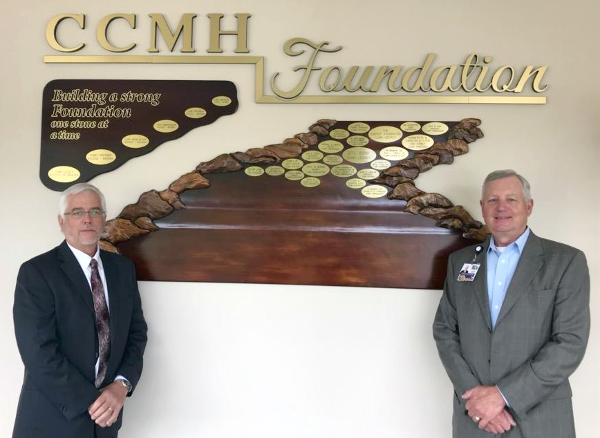 CCTC Makes Pledge to CCMH Foundation
