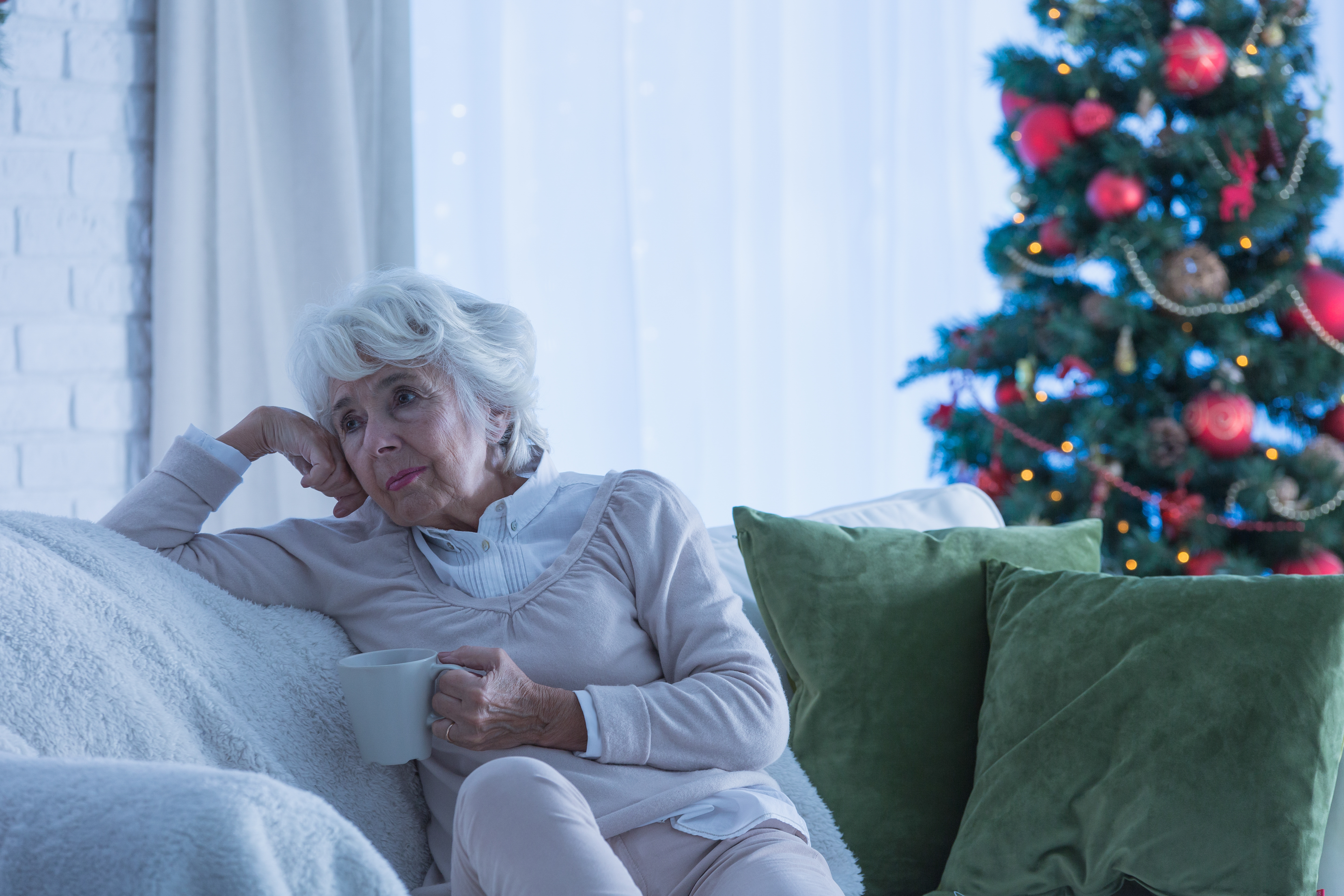Feeling Anxious, Depressed Approaching the Holidays? CCMH Senior Life Solutions Program Says You're Not Alone