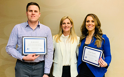Gilman, Riley Receives Green Belt Certification from MHA