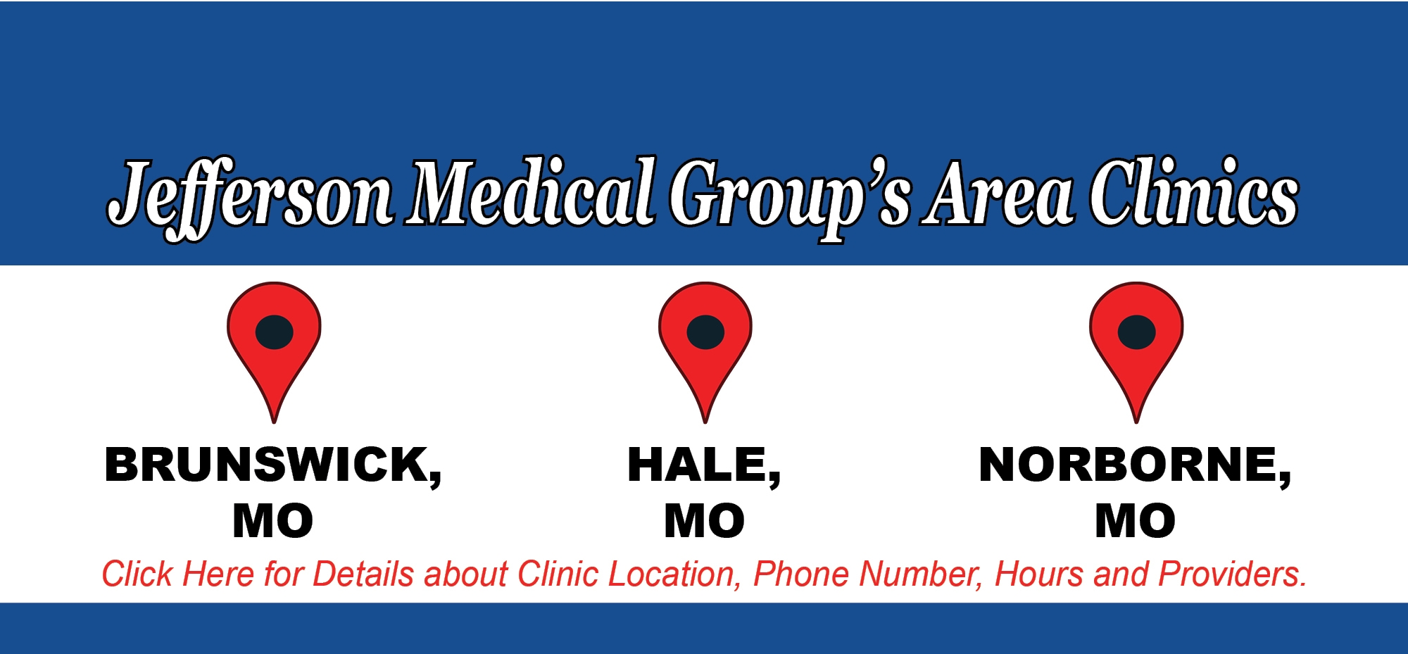 Jefferson Medical Group's Area Clinics